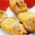 шашлык с ананасами